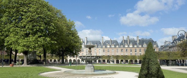 The Marais district