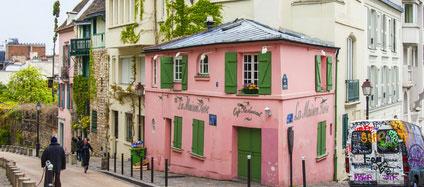 Montmartre Village and its vineyard