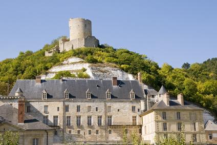 chteau de La Roche-Guyon, Val d'Oise, France